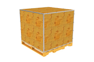Simple-Lock™ Crate - With Pallet - 47 1/8 x 47 1/8 x 41 1/8