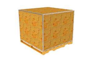 Simple-Lock™ Crate - With Pallet - 59 1/8 x 59 1/8 x 42 1/8