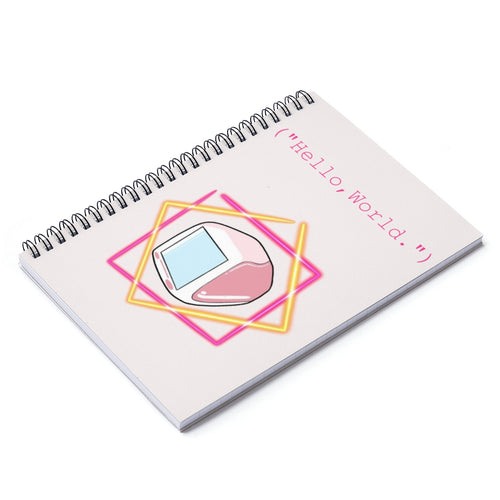 90s Computer Spiral Notebook - Ruled Line