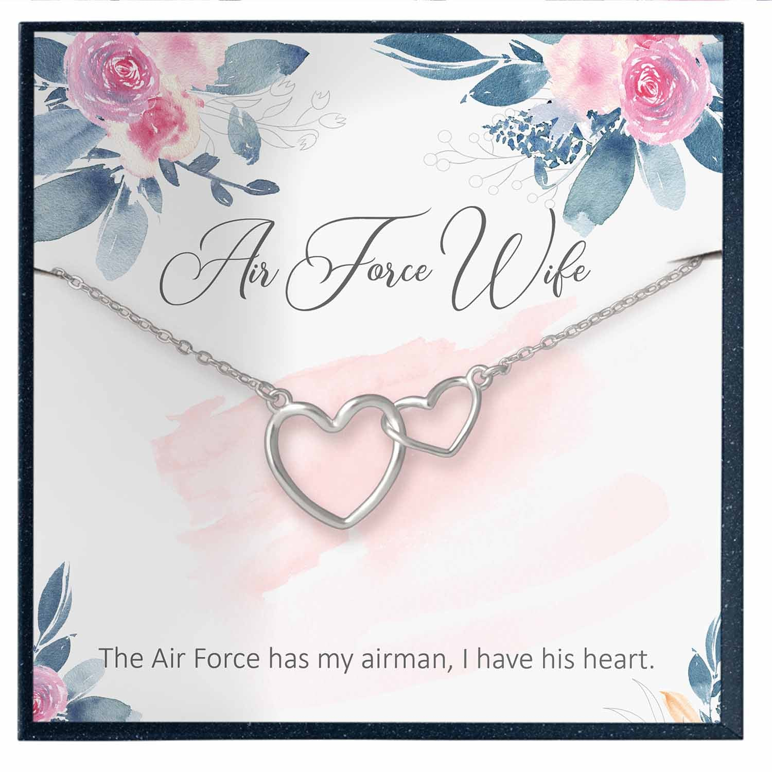 Air Force Wife Necklace Gift
