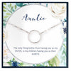 Auntie Gift, Auntie Necklace - Grace of Pearl