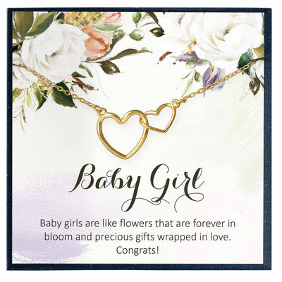 Baby Girl Congratulation Gift - Grace of Pearl