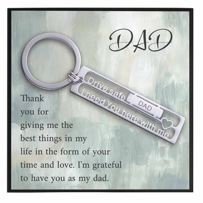 Best Dad Keychain Gift - Grace of Pearl
