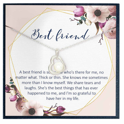 Best Friend Jewelry Gift - Grace of Pearl