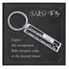 Dad To Be Keychain Gift - Grace of Pearl