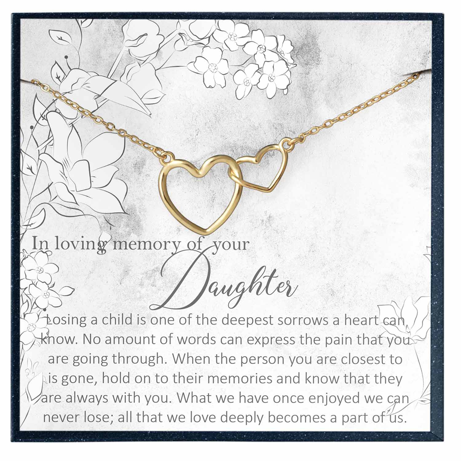 Daughter Memorial Gift, in Memory of Daughter