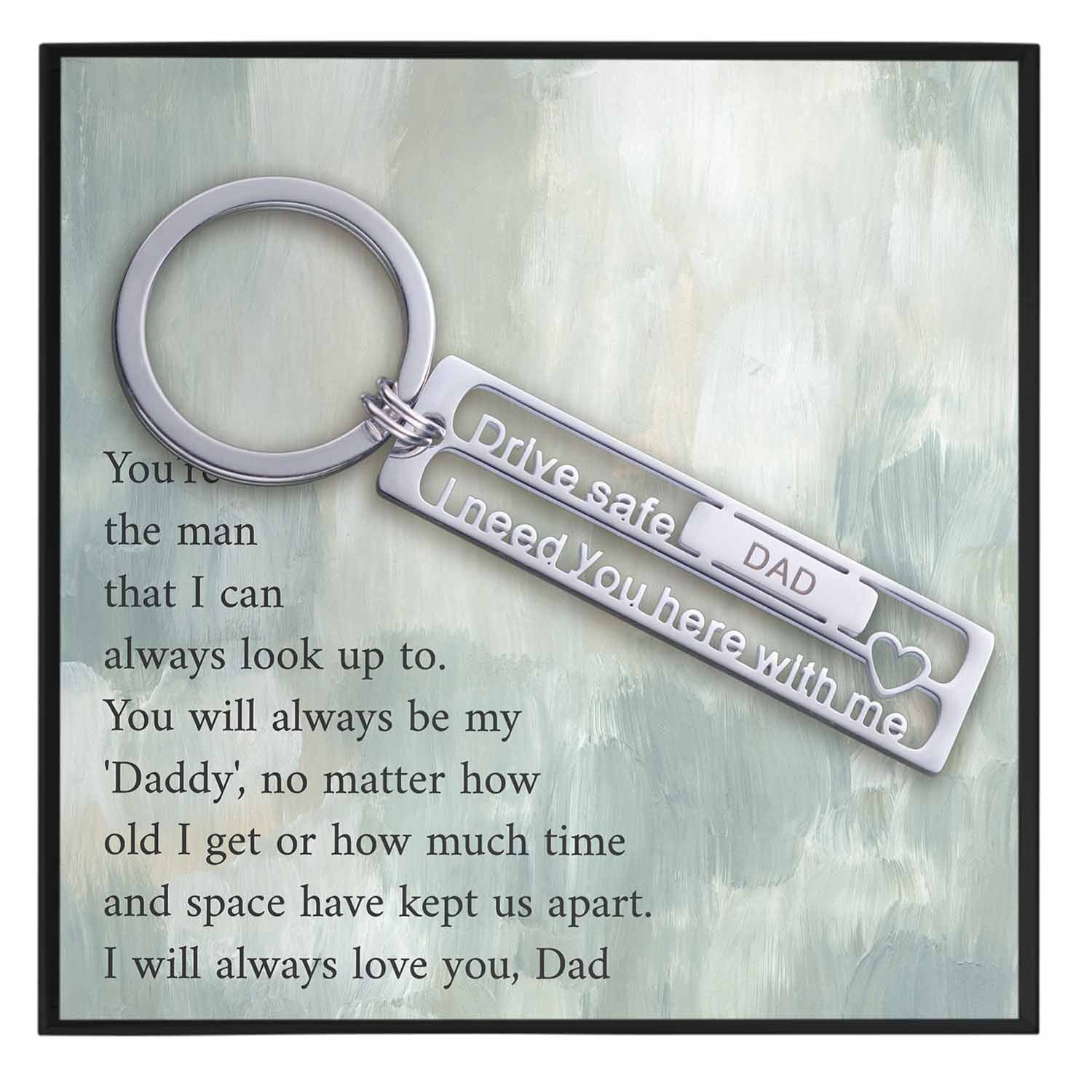 Fathers Day Gift For Keychain Husband
