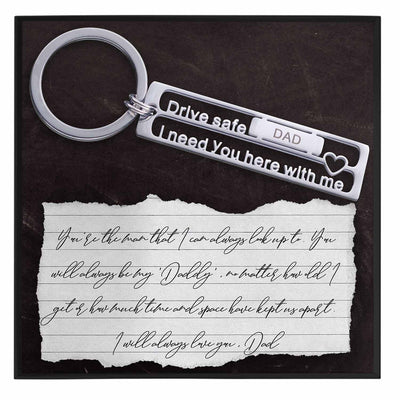 Fathers Day Gift For Keychain Husband - Grace of Pearl