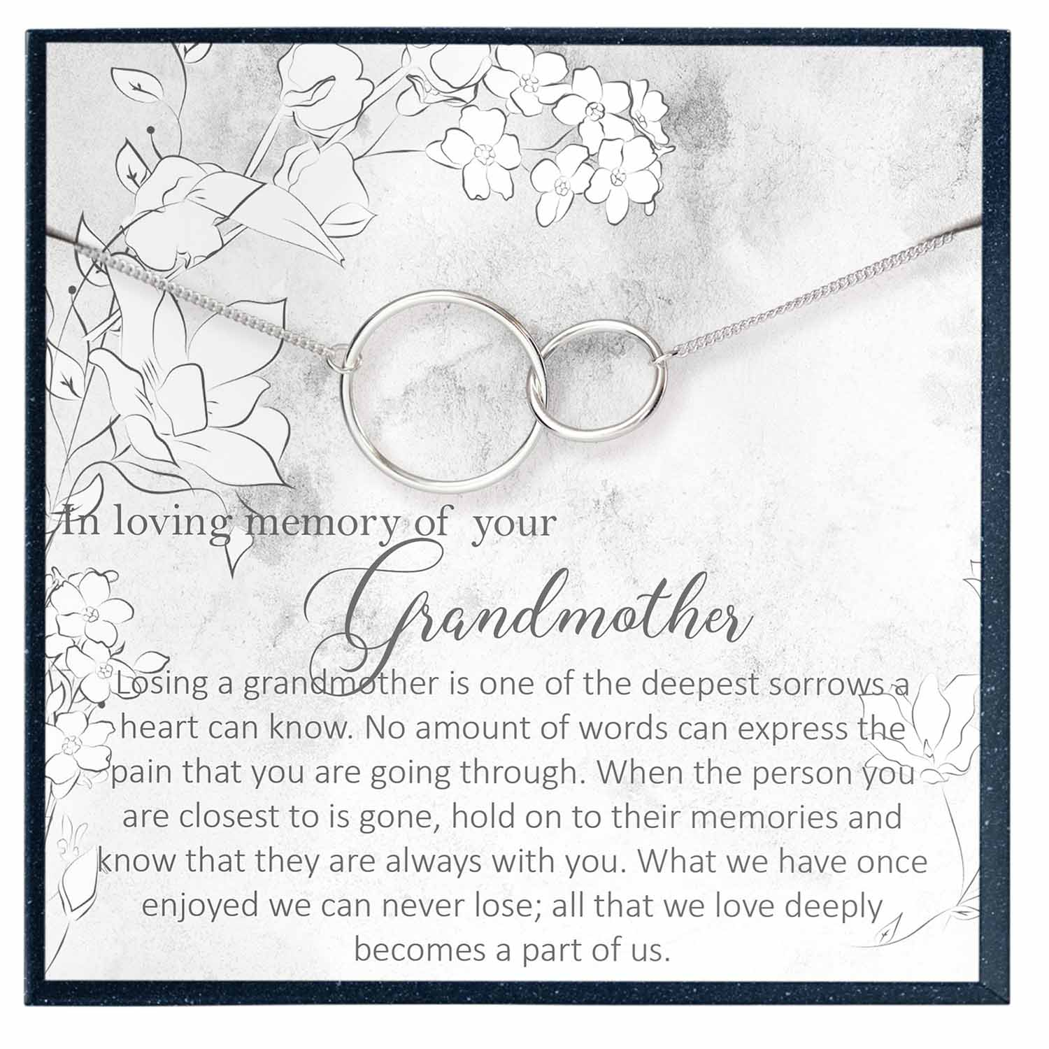 Grandmother Memorial Gift, in Memory of Grandmother