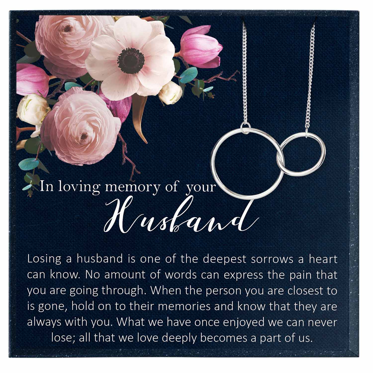 Husband Memorial Gift, in Memory of Husband