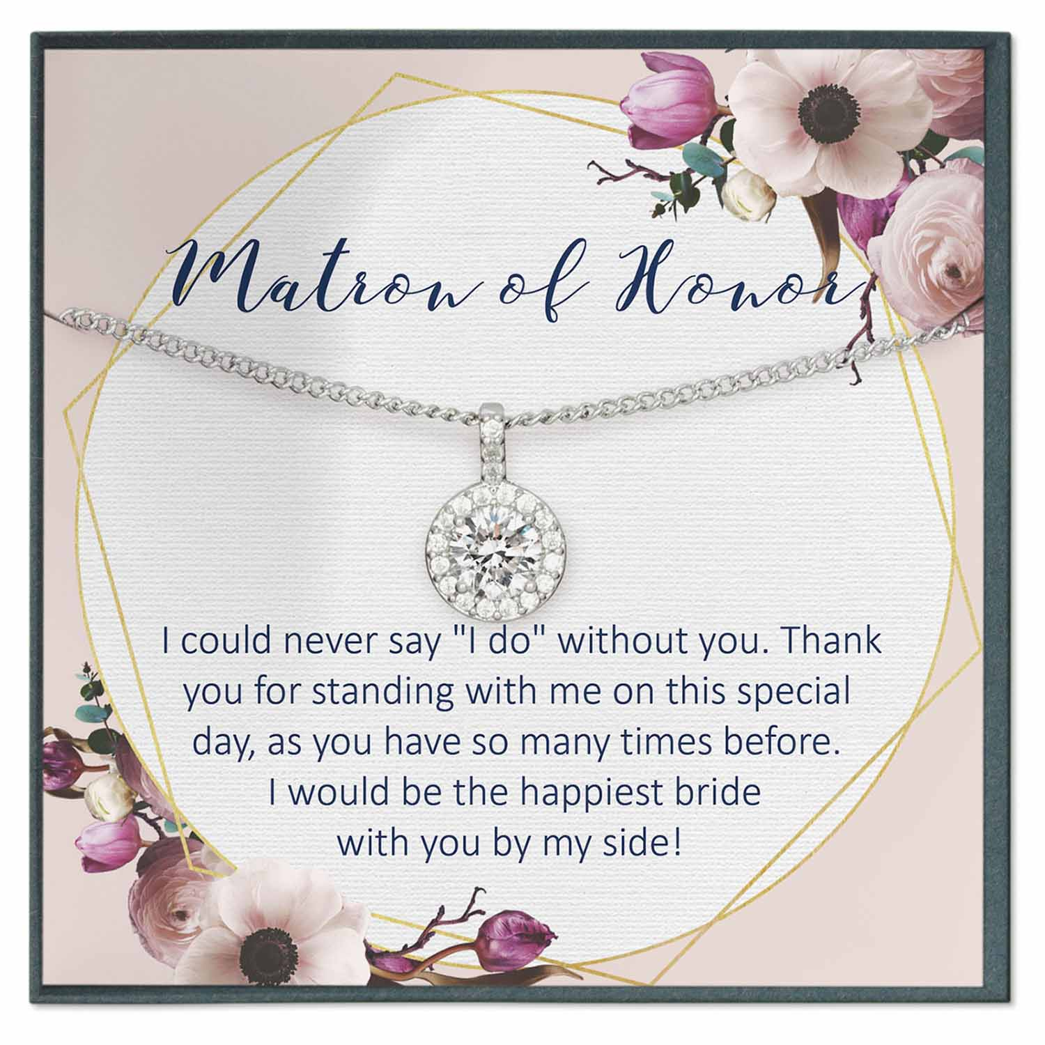 Matron of Honor Proposal Gift