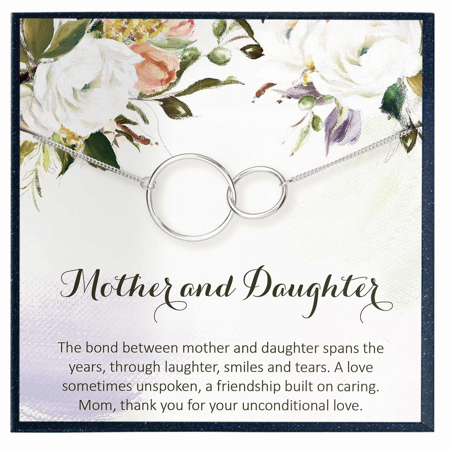 Mother Daughter Necklace, Mother's Day Gift from Daughter