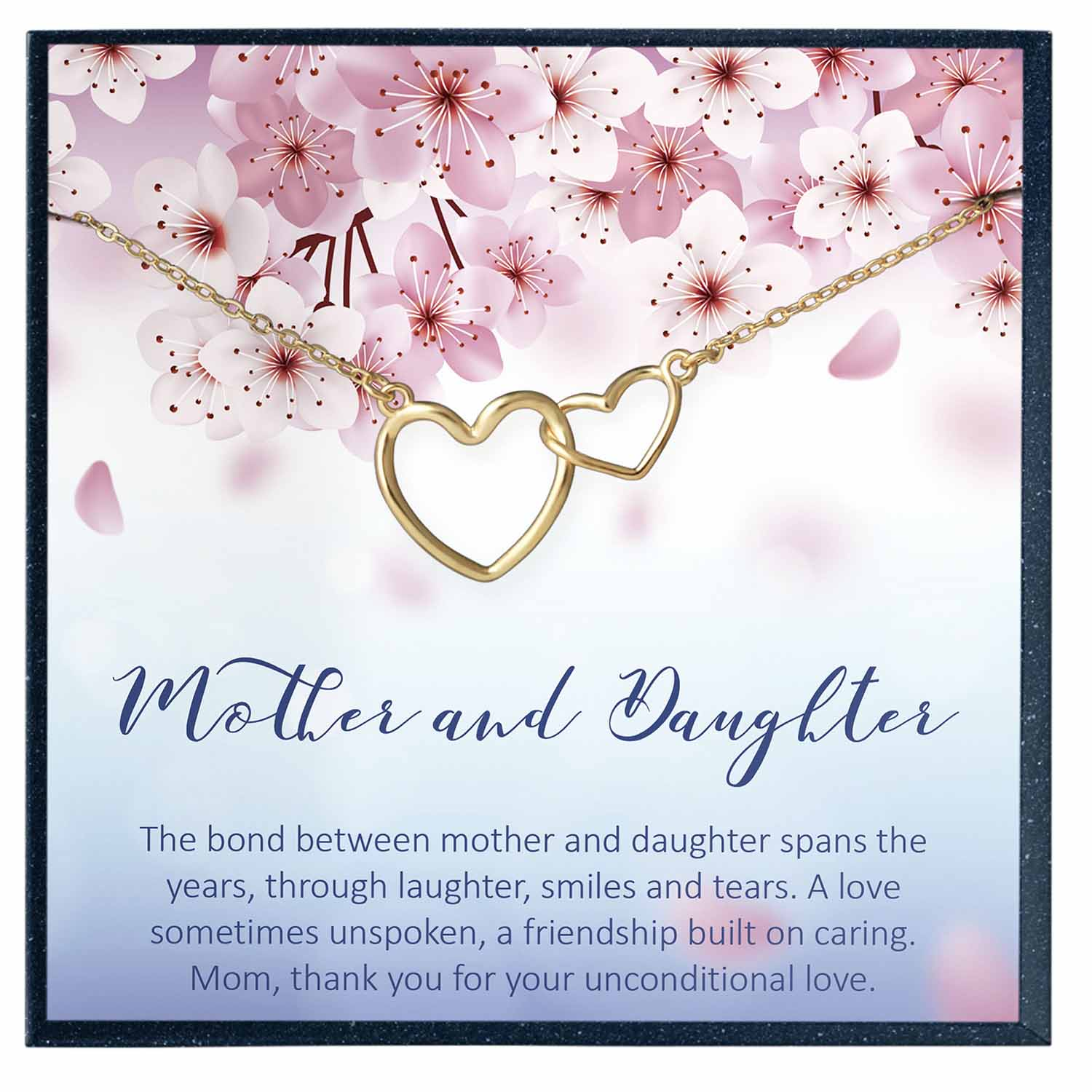 Mother Daughter Necklace, Mother Daughter Gift