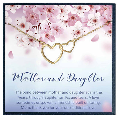 Mother Daughter Necklace, Mother Daughter Gift - Grace of Pearl