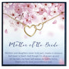 Mother of the Bride Gift from Daughter, Mother of the Bride Necklace - Grace of Pearl