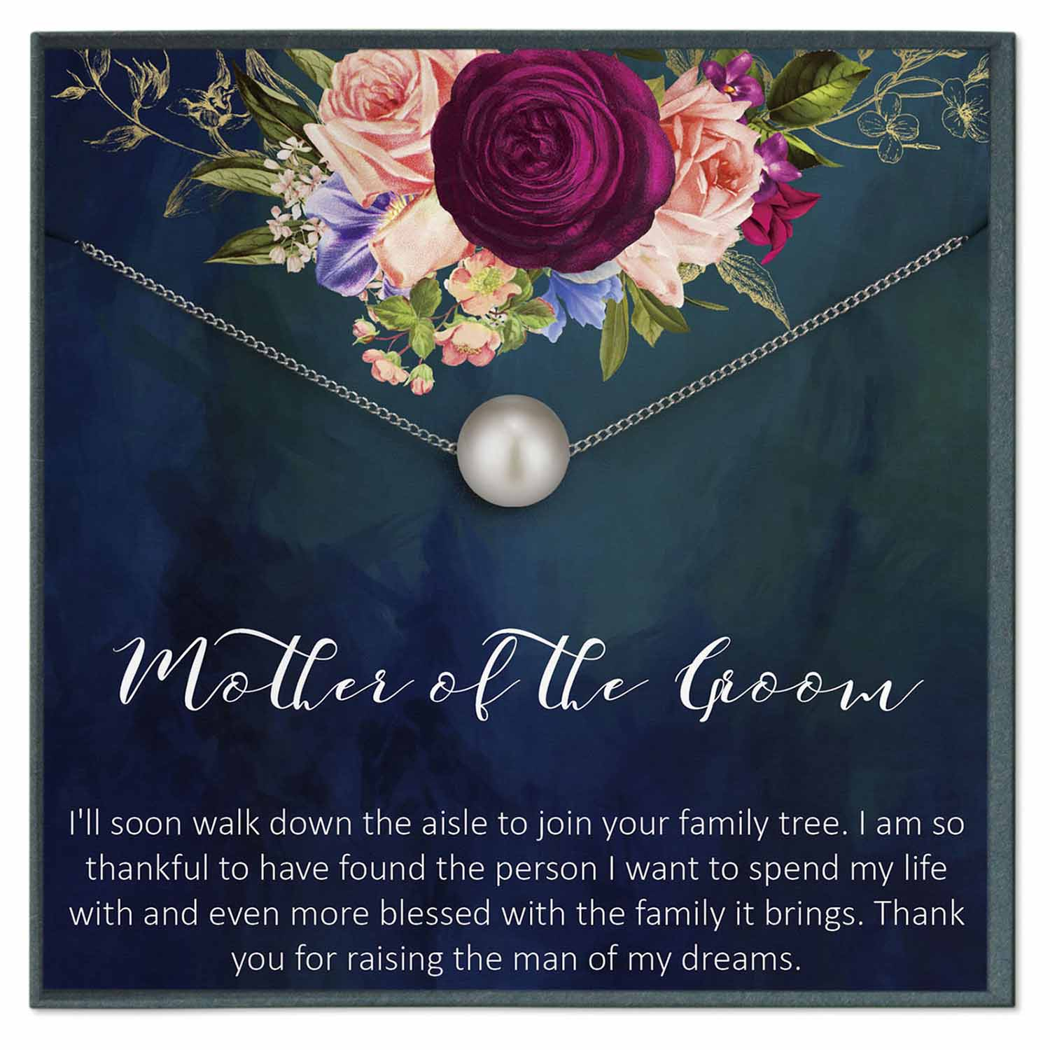 Mother of the Groom Gift from Bride, Future Mother in Law Wedding Gift