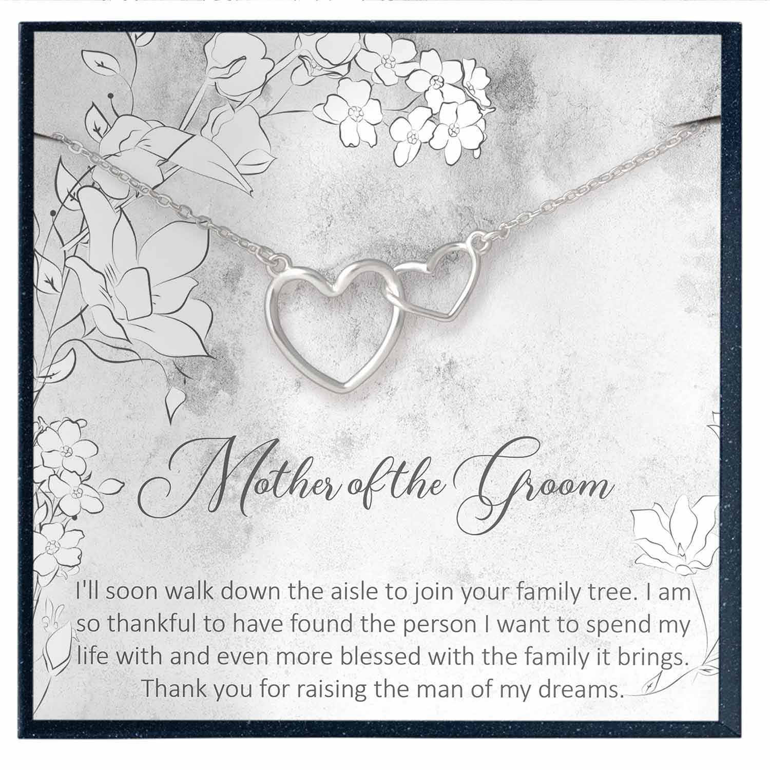 Mother of the Groom Gift from Bride, Future Mother in Law Wedding Gift - Grace of Pearl