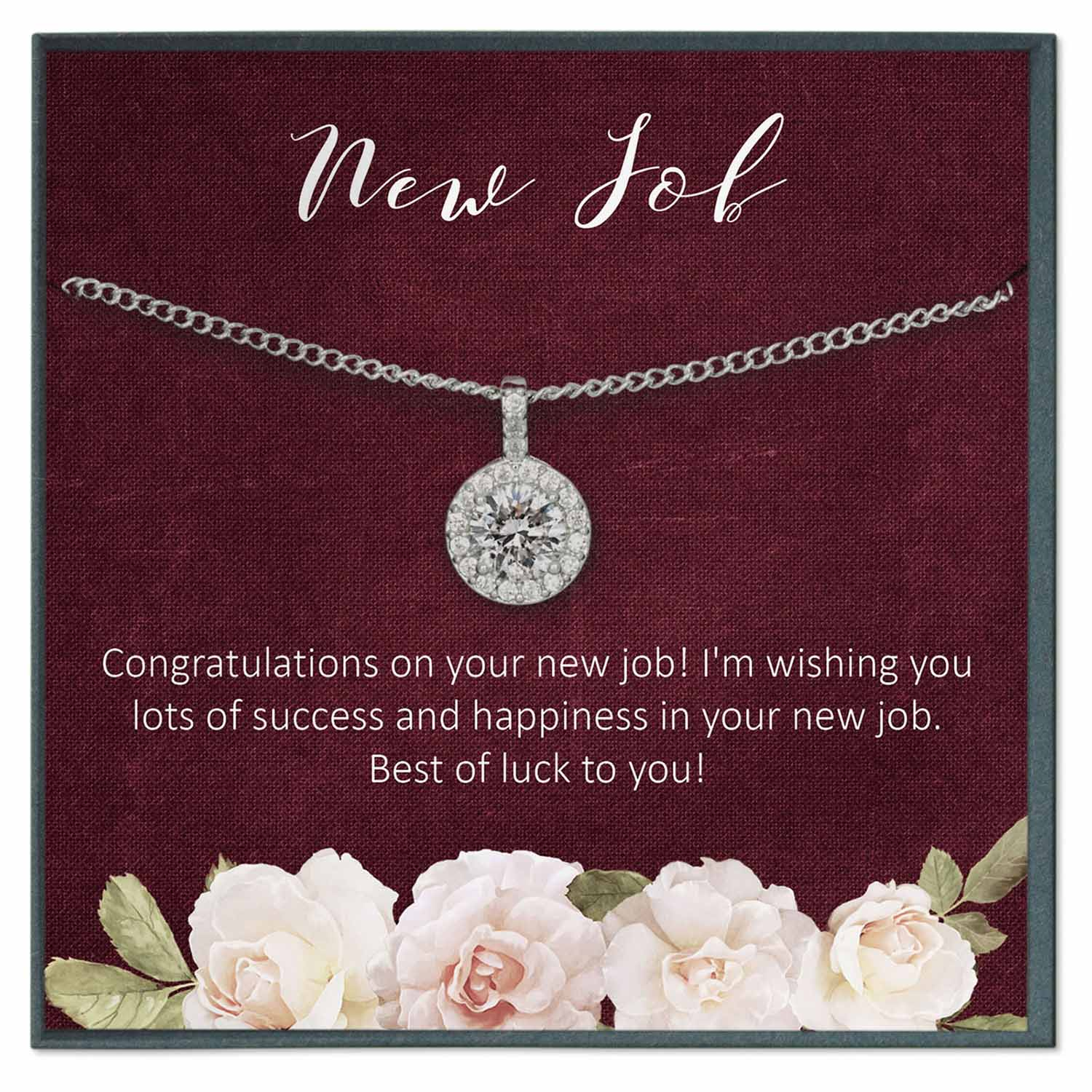 New Job Gift Necklace - Grace of Pearl