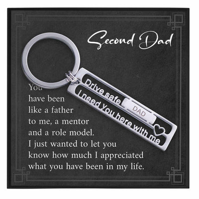 Second Dad Keychain Gift - Grace of Pearl