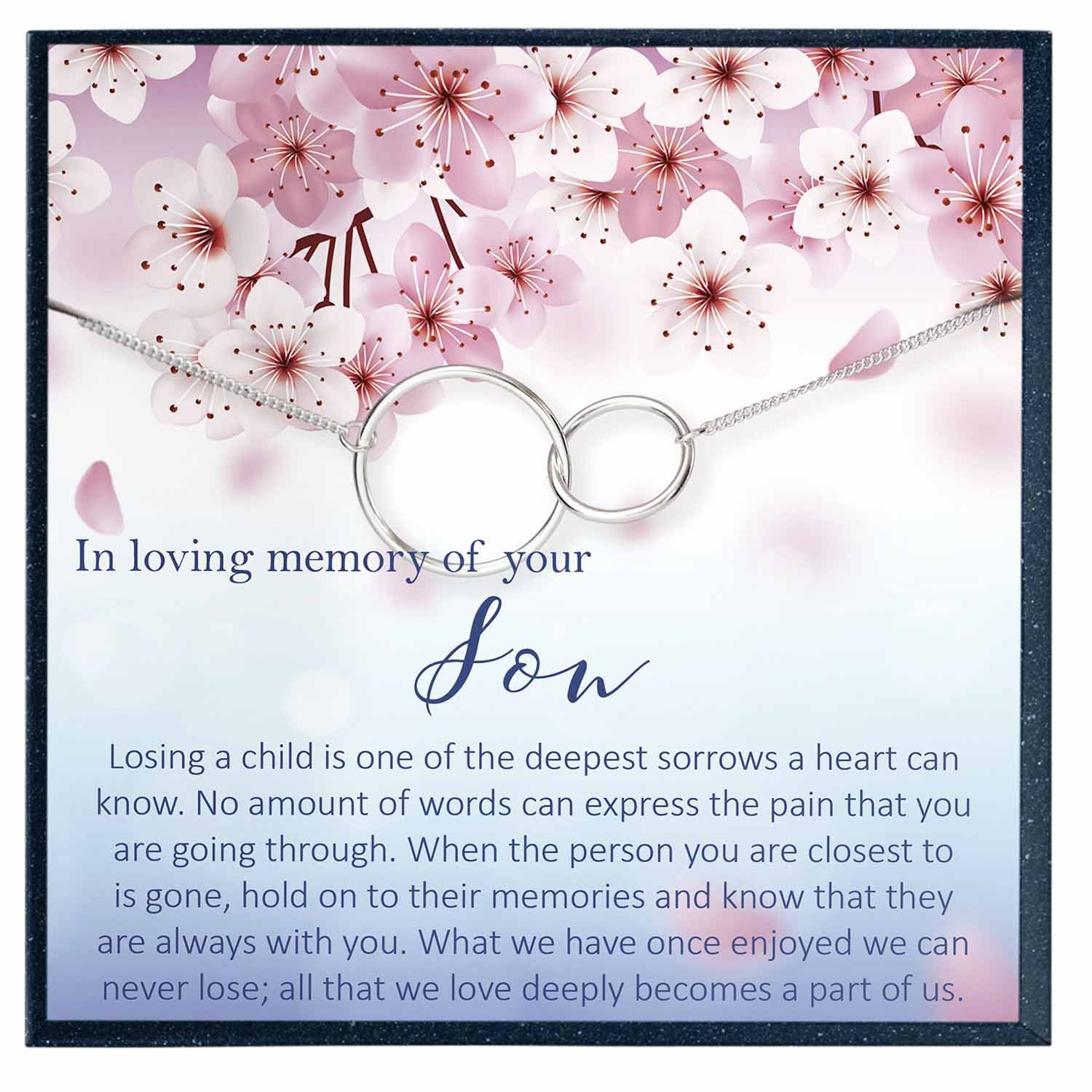 Son Memorial Gift, in Loving Memory of Your Son