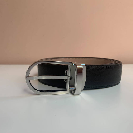 [M31-D24] Luxury Men's Belt - Genuine Cowhide Leather Belt