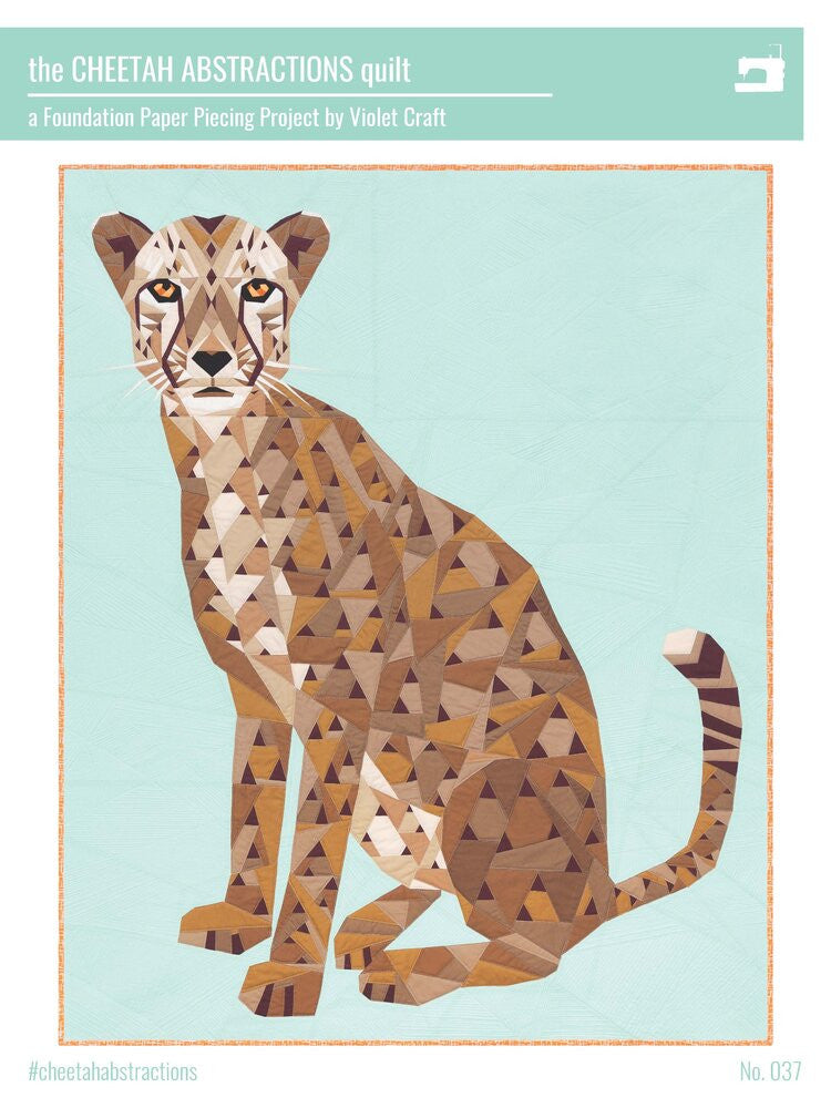 Cheetah Abstractions Quilt Pattern