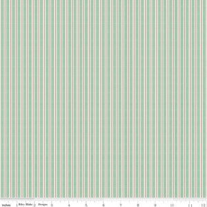 Prim Alpine Ticking Stripe Yardage (C9707 ALPINE)