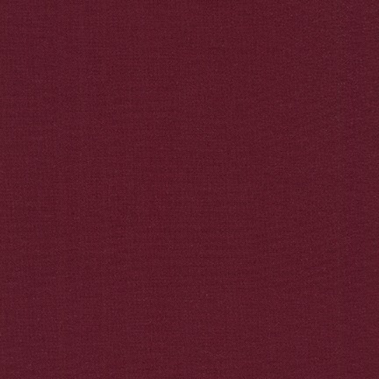 Kona Cotton Burgundy Yardage (K001-1054)