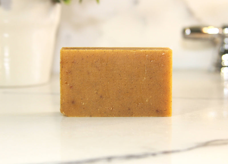 Pumpkin Spice Natural Handmade Bar Soap 4oz