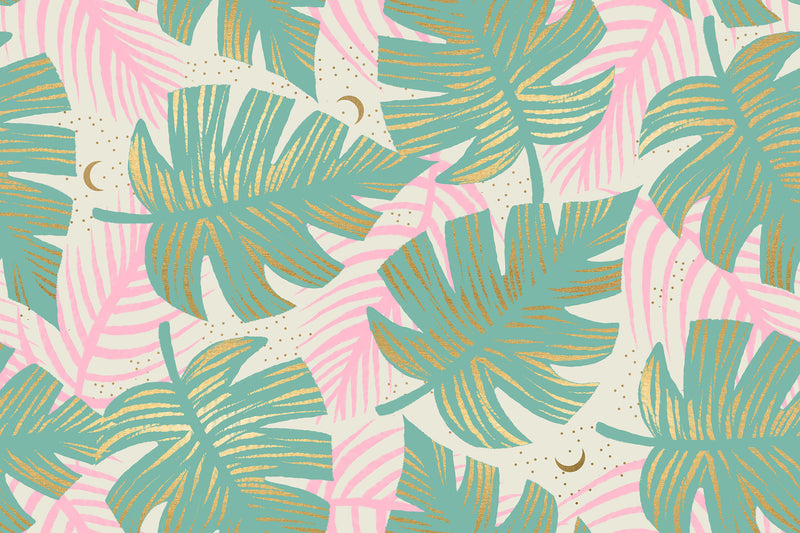 Florida Water Shade Palms Yardage (RS2024 12M) Ruby Star Society - Cut Options