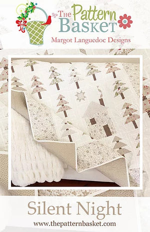 Silent Night Quilt Kit featuring All Hallows Eve fabric