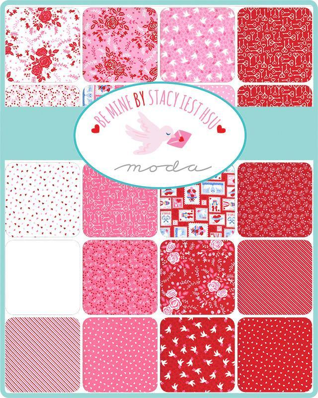 PRESALE Be Mine Sweetheart Loves A Bloom Yardage (20715 13)