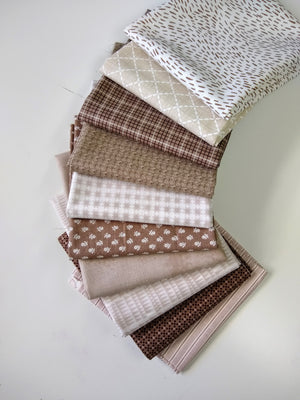 Brown Fat Quarter Bundle