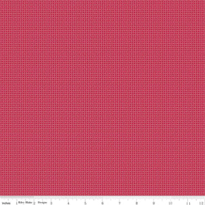 Prim Jazzberry Stitches Yardage (C9703 JAZZBERRY)