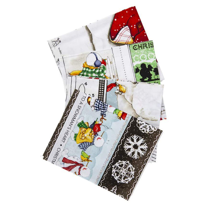 Snow Sweet Panel Bundle - 4 Pieces