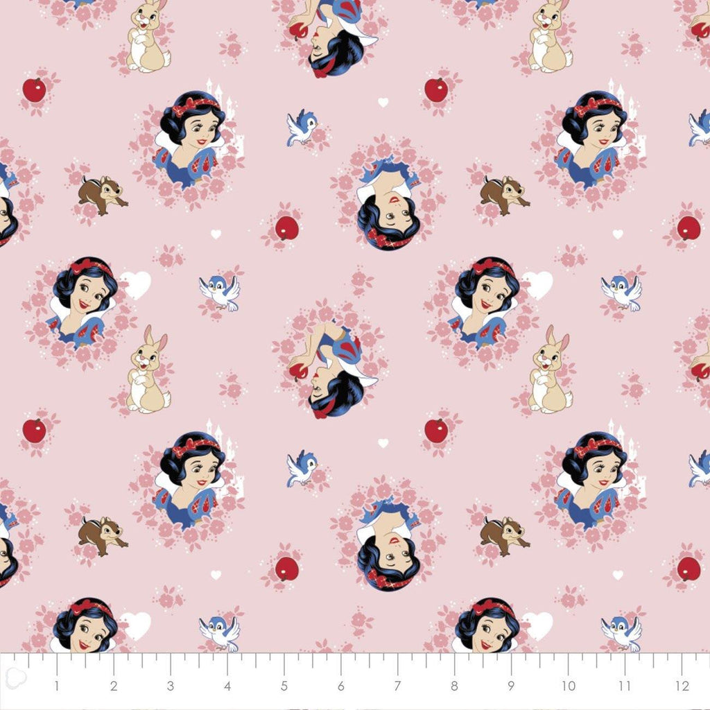 Forever Princess Pink Snow White Yardage | 85100512 01 - Stitches n Giggles