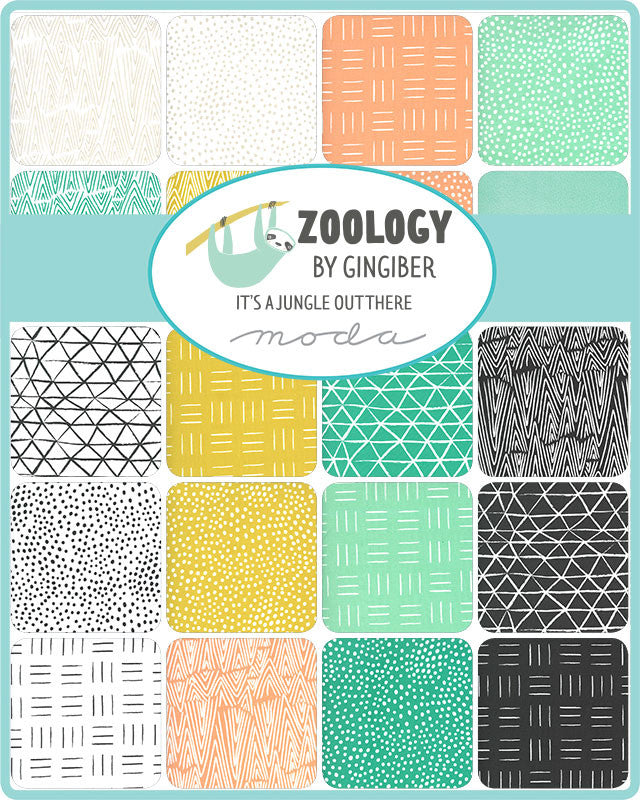 Zoology Flamingo Movement Dots Yardage (48305 14)