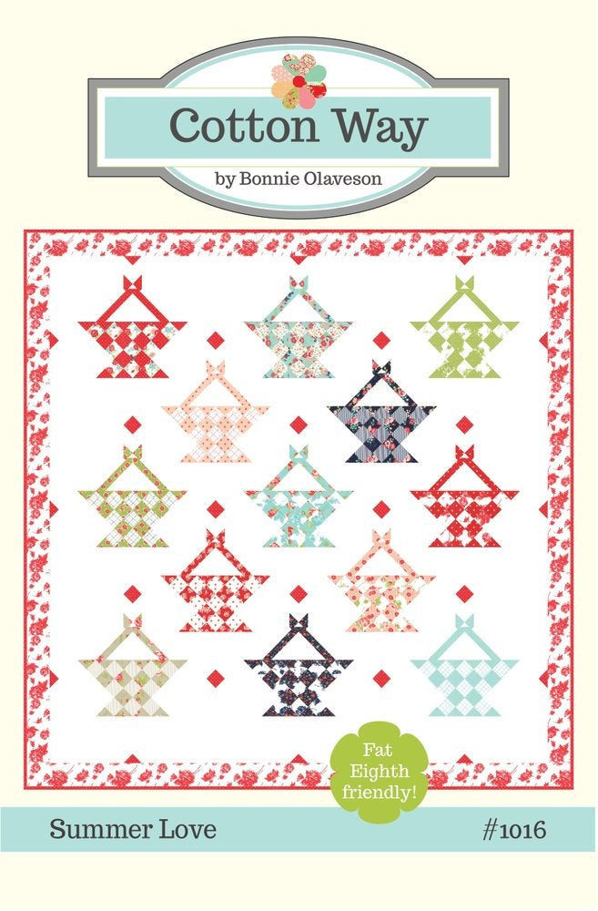 Summer Love Quilt Pattern by Cotton Way (CW 1016)