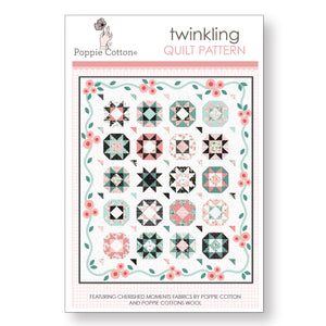 Twinkling Quilt Pattern by Poppie Cotton