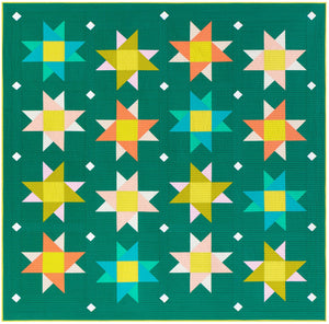Starry Skies Quilt Pattern  by Then Came June and Pen + Paper Patterns