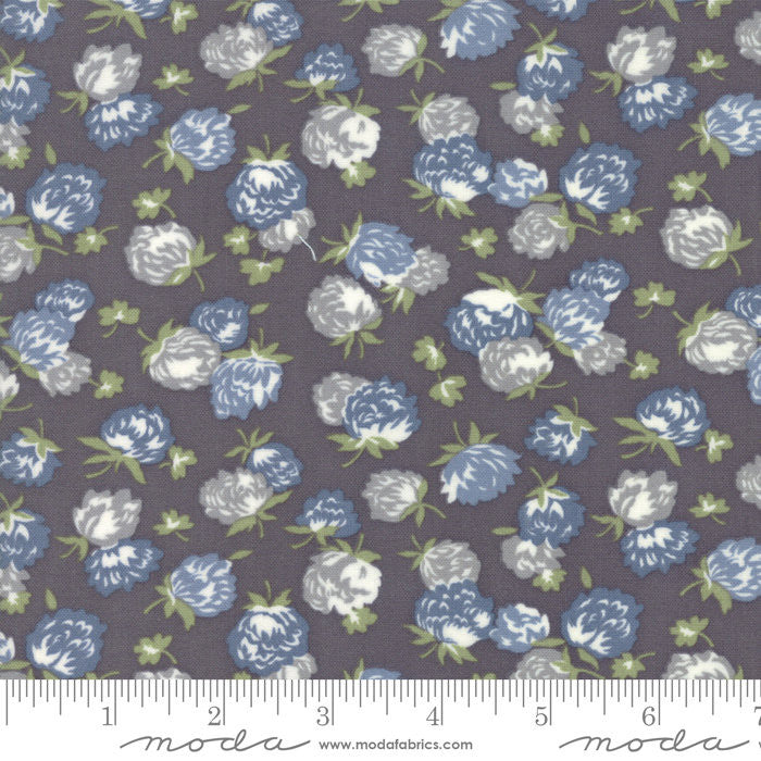 At Home Graphite Blossoms Yardage by Bonnie & Camille (55203 23)