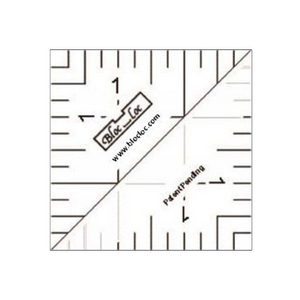 "Bloc Loc 1.5"" Half Square Triangle Ruler"