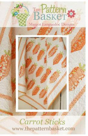 Carrot Sticks Quilt Pattern by The Pattern Basket - Carrot Quilt - Easter Quilt (TPB1701)