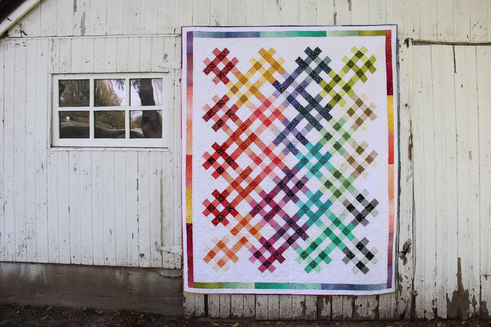Ombre Picnic Quilt Pattern