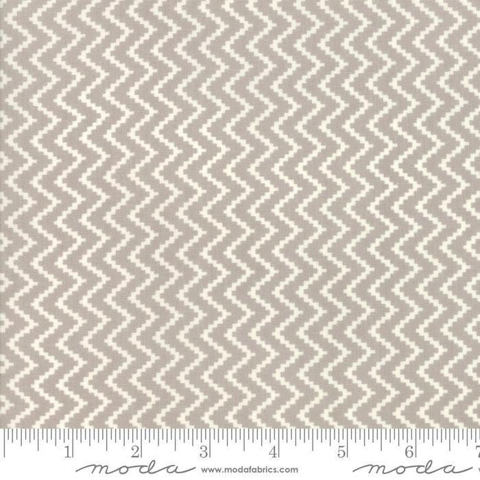 All Hallows Eve Fog Zigzag Yardage by Fig Tree & Co for Moda  - (20353 15) - Stitches n Giggles