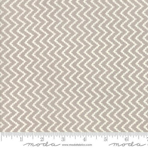 All Hallows Eve Fog Zigzag Yardage by Fig Tree & Co for Moda  - (20353 15)