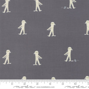 Ghouls and Goodies Midnight Here Mummy Mummy Yardage (20682 14)
