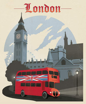 London Destinations Poster Panel (P10027)