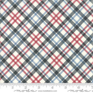 Branded Cream Plaid Yardage (5786 14)
