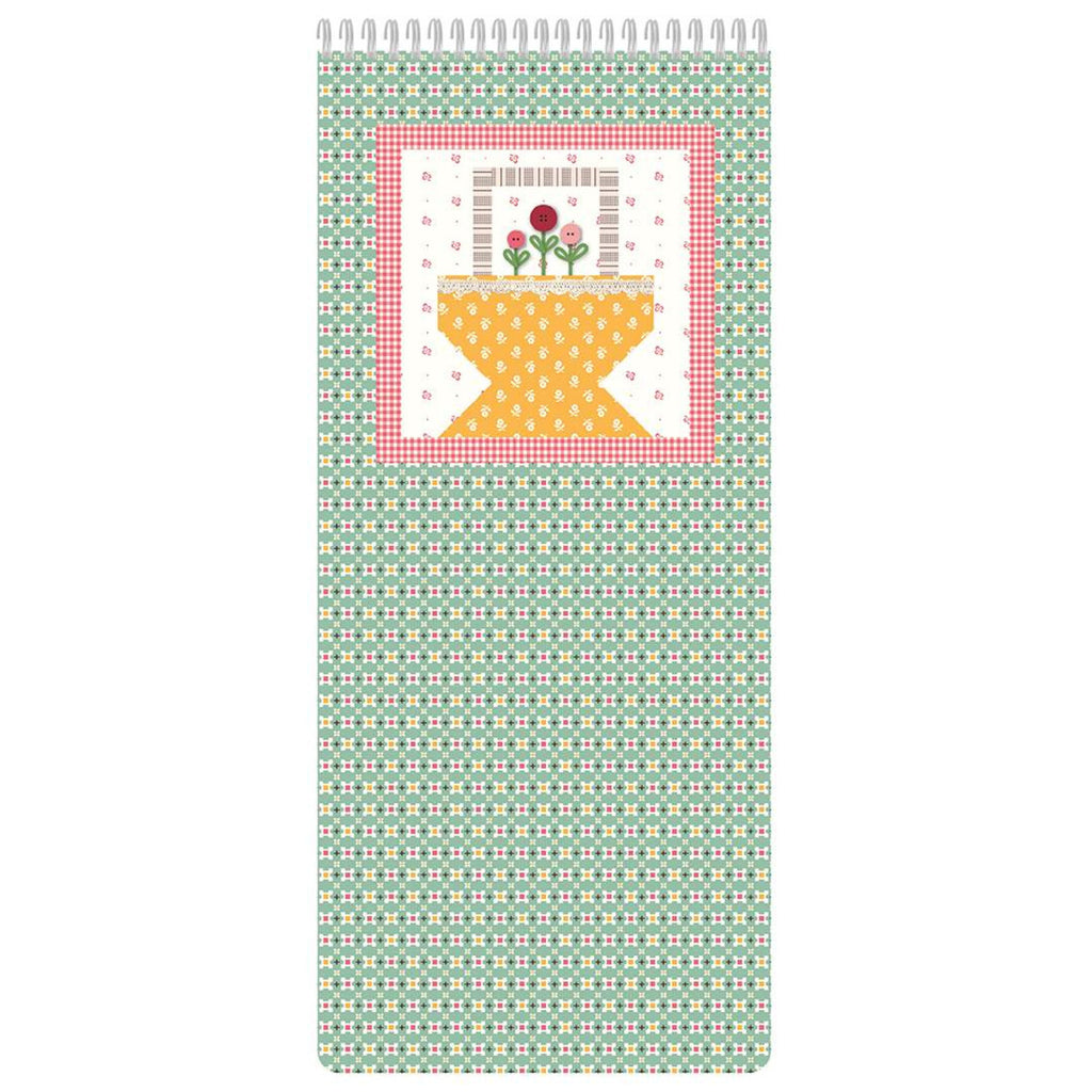 Lori Holt Prim Basket Lined Notebook